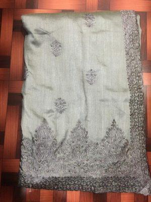 tatami stitch single jari concept c-pallu cut-work saree