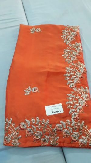 c-pallu cording saree