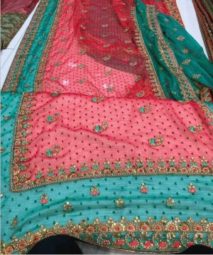 c-pallu concept cut-peast saree
