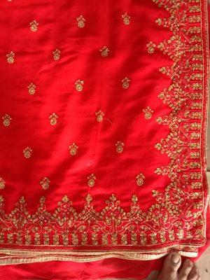 ton to ton c-pallu saree