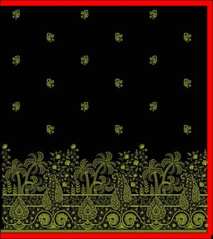 fensi panel sarees