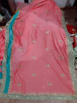 cut pest , c pallu , packing , diamond test saree