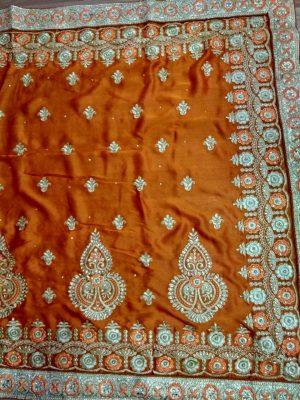 vichitra ton to ton concept c-pallu   saree