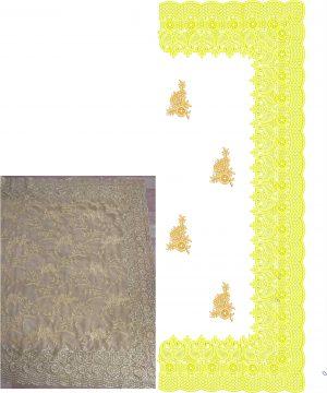 ton to ton c-pallu cut-work saree (only concept design)