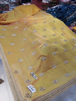 butta concept , diamond concept saree