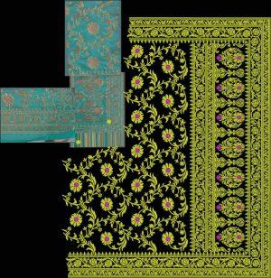 tatami box pallu concept jaal sarees