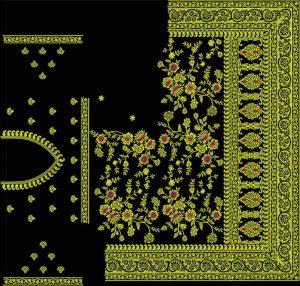 tatami stitch jaal concept c pallu saree