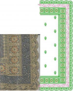 ton to ton c-pallu concept cut-work saree