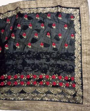 Dhaga test C Pallu ton to ton saree