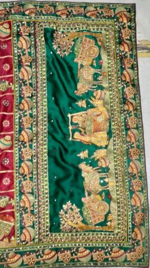 figure  concept box-pallu saree
