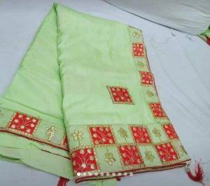 cut peast , packing saree