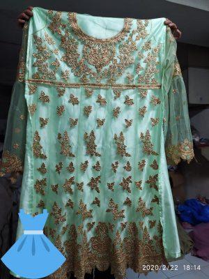 New fancy multi Gown