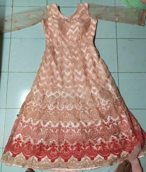 New Fancy Lakhnavi Gown