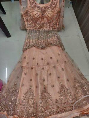 New Fancy Anarkali Gown