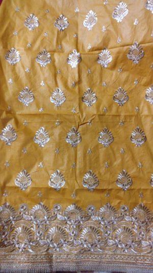 single jari Daman Top Embroidery Design
