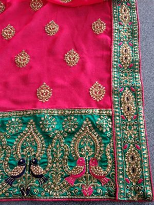 CUT PEST SAREE DESIGN