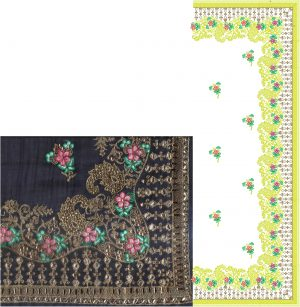 c pallu , diamond test , packing saree design