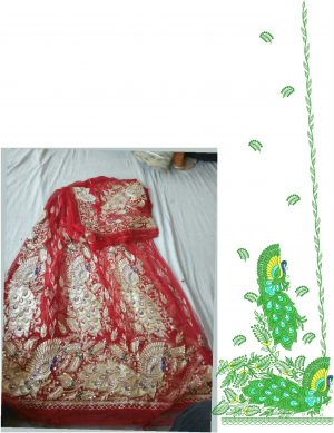 figure concept Rajsthani othna (only concept design)