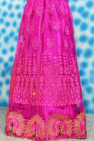 figure garlish lehenga design