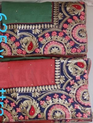 border concept , packing saree