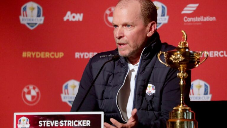 Brooks Koepka, Bryson DeChambeau agree to stop feuding as Ryder Cup approaches, captain Steve Stricker says