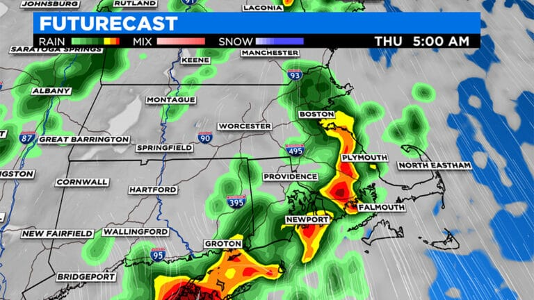 Storm To Bring Heavy Rainfall, Localized Flooding Possible – CBS Boston