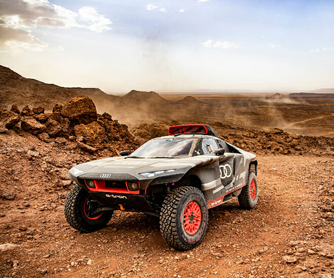 Audi Puts The RS Q e-tron to the Test in Morocco
