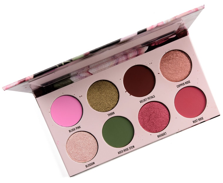 Give Me Glow Vintage Rose Eyeshadow Palette Review & Swatches