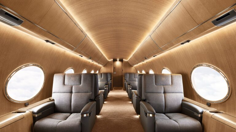 An Inside Look at RH's First Private Charter Jet
