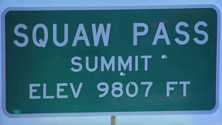 Squaw Mountain in Colorado Name Change Approved