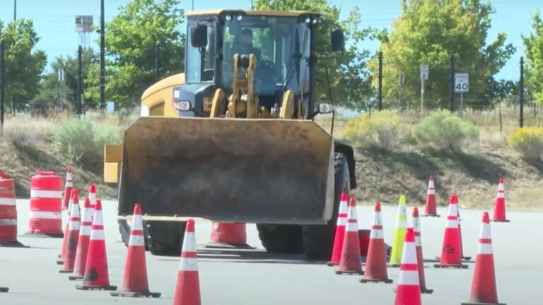 Aurora Colorado Hosts Snow Plow Rodeo For Drivers To Freshen Up Skills Ahead of Winter