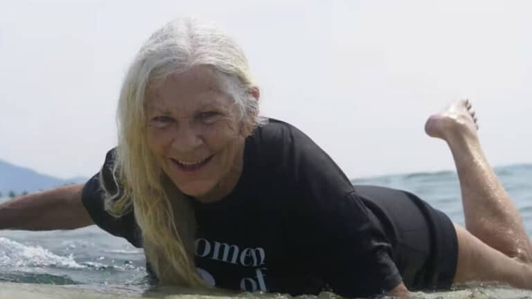 This Woman Has Been Surfing For 59 Years & Is An Absolute Joy