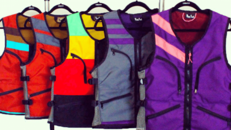 The WhatVest Is A Cargo Vest Designed For Skiing