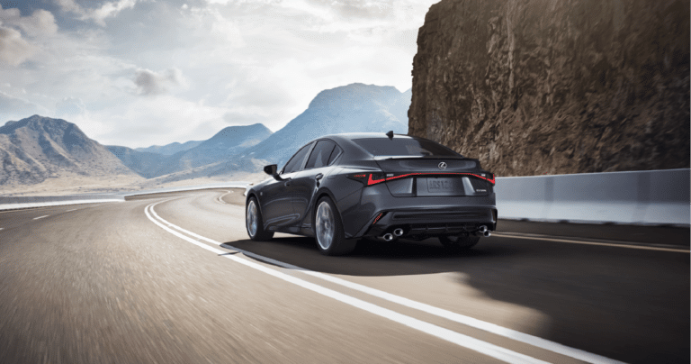 Test Driving the 2022 Lexus IS 500 F SPORT Performance