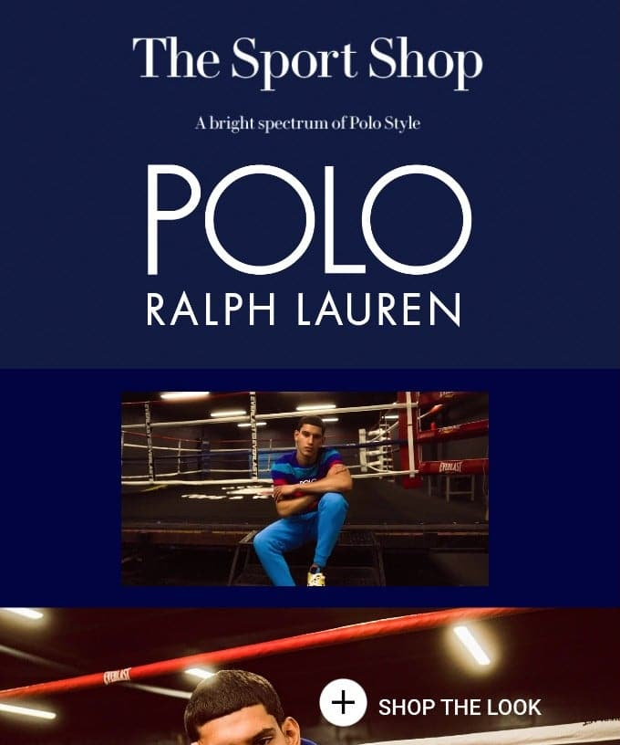 Presenting The Sport Shop by Polo Ralph Lauren