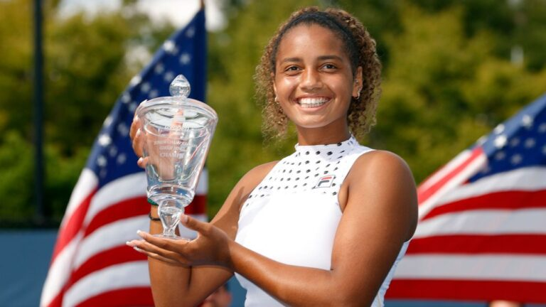 American Robin Montgomery takes US Open girls' singles title