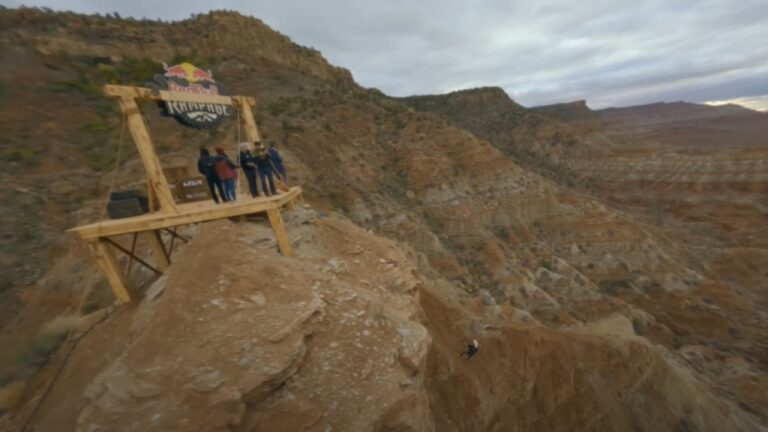Red Bull Rampage Drone Course Preview