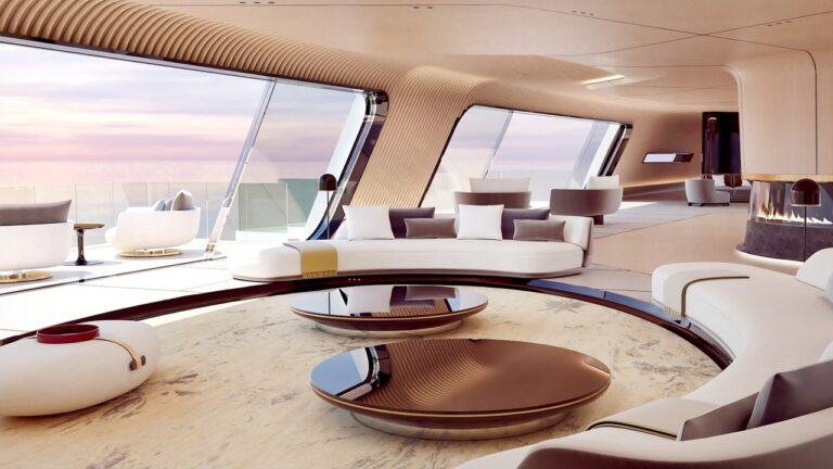 Luxury Yachts Are a Dream Project for Lucky Designers