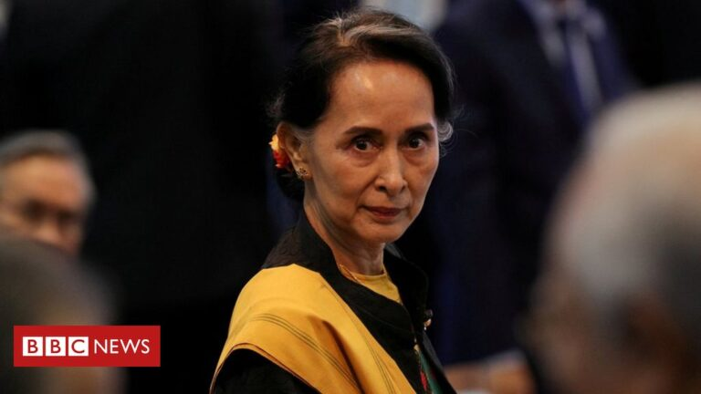 Myanmar coup: Calls for Suu Kyi release as lawmakers held