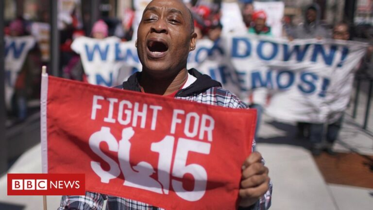 Minimum wage fight: 'There's no recovery without raising it'