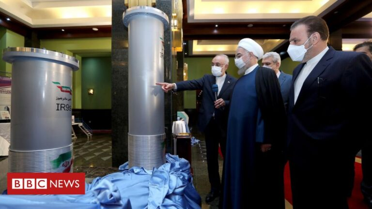 Iran to enrich uranium to 60% after 'wicked' nuclear site attack