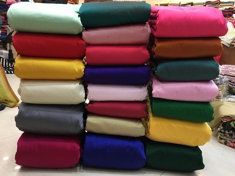 Beautiful Taffeta Silk fabrics on sale today for both women and men to give you …