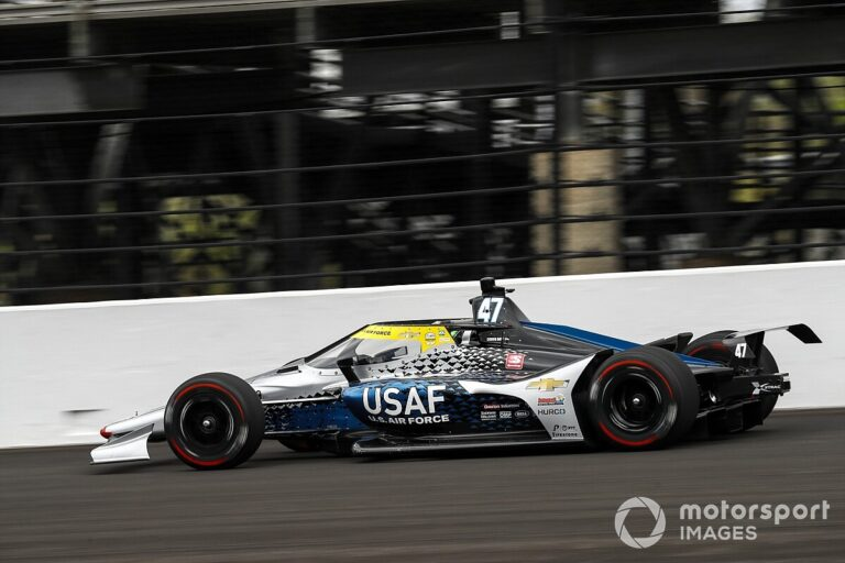 Daly heads Indy test Friday morning, all rookies cleared