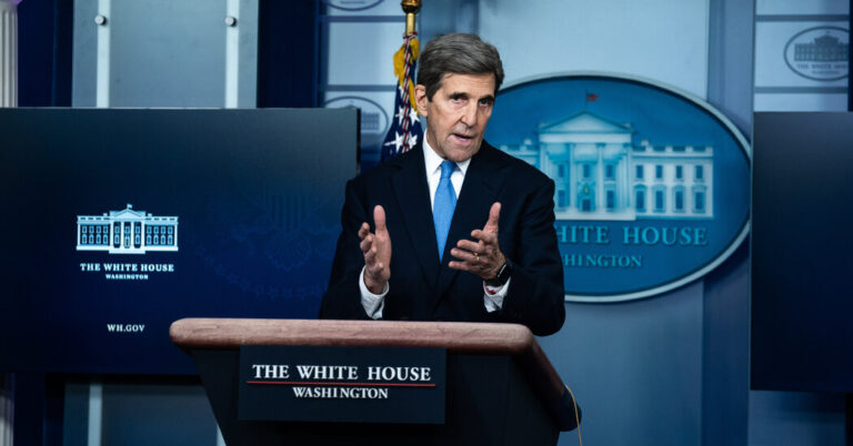 John Kerry, at U.N., Likens Climate Inaction to a Global 'Suicide Pact'