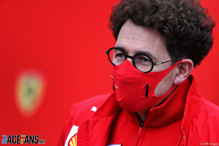 Binotto will skip some races this year to focus on Ferrari's 2022 project