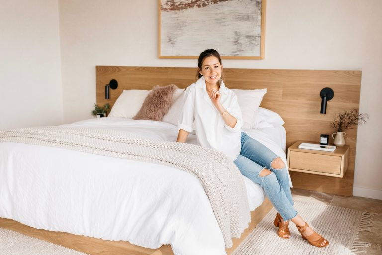 Shop the Neutral Bedroom Décor From Camille Style's Austin Home