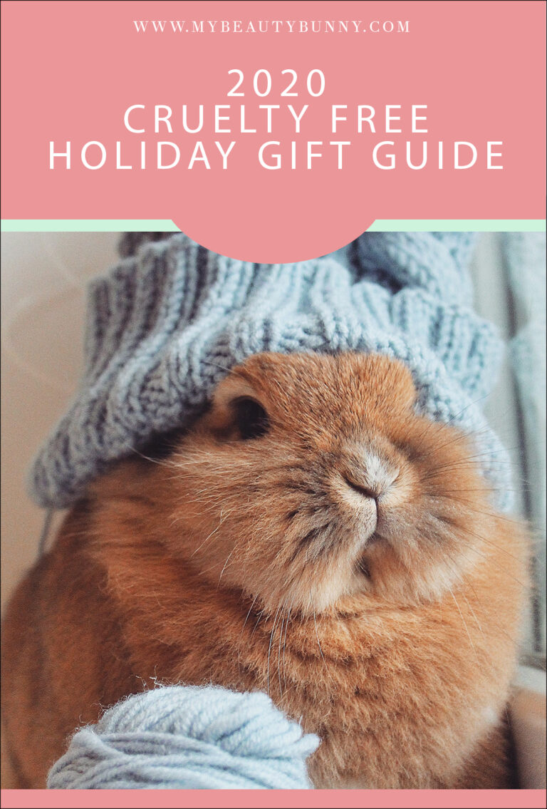 Cruelty Free Holiday Gift Guide 2020 | My Beauty Bunny