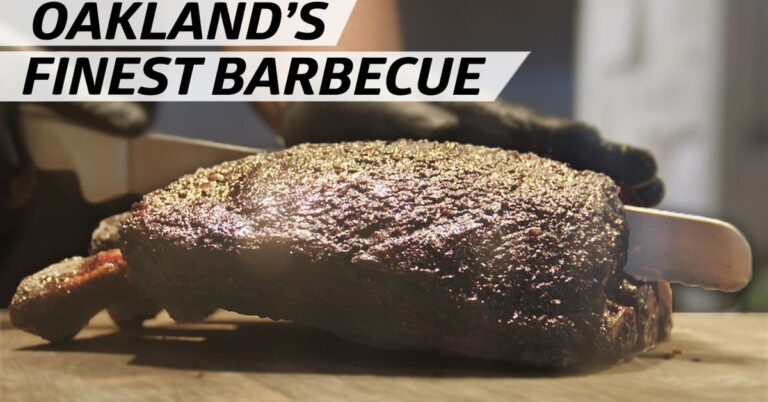How Oakland's Horn Barbecue Makes 'West Coast-Style' Smoked Meats