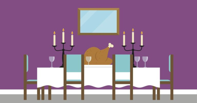 What is the dining table really for?