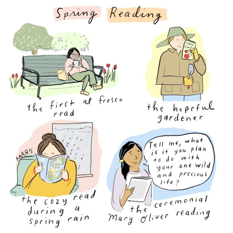 Spring Reading | A Cup of Jo